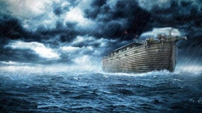 Ilusrtasi banjir besar.