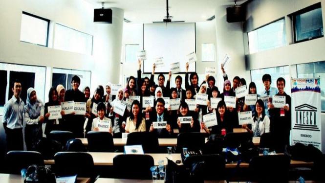200 Lebih Mahasiswa Ikuti Simulasi Sidang PBB Terbesar di Indonesia