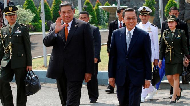 Presiden SBY dan Wakil Presiden Boediono
