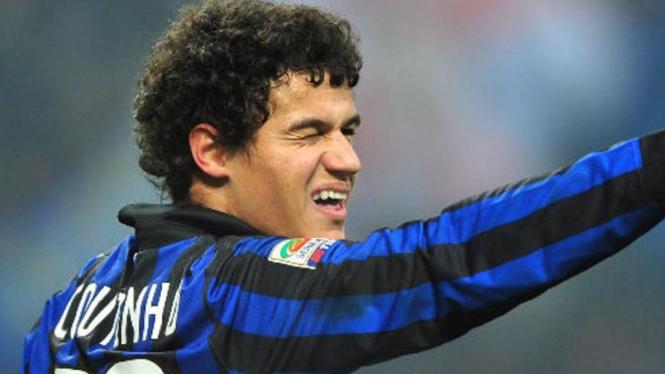 Philippe Coutinho saat masih menjadi pemain Inter Milan.