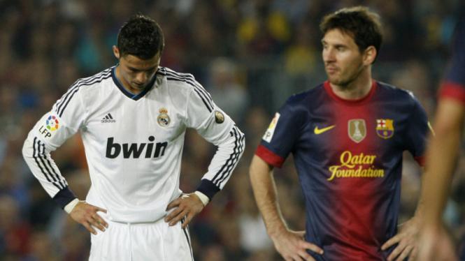 Barca Bermain Imbang Dengan Madrid