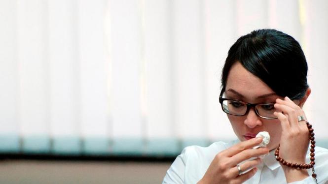 Politisi Demokrat Angelina Sondakh terjerat kasus suap
