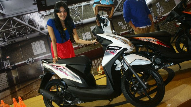 All New Honda BeAT Injeksi. Ilustrasi.