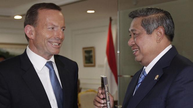 Presiden SBY dan Tony Abbott