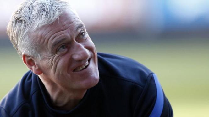 Pelatih timnas Prancis, Didier Deschamps