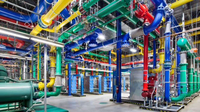 warna warni server google