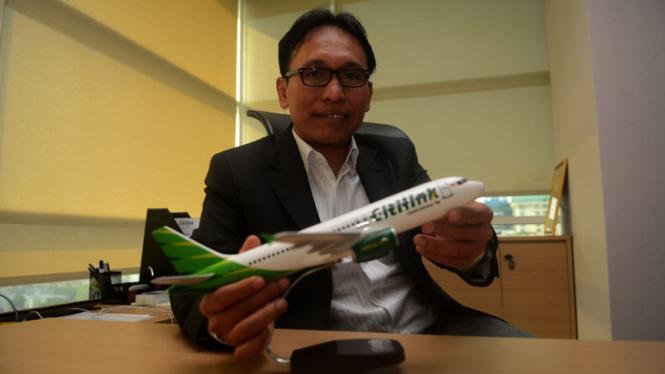 Direktur Utama Citilink, Arif Wibowo