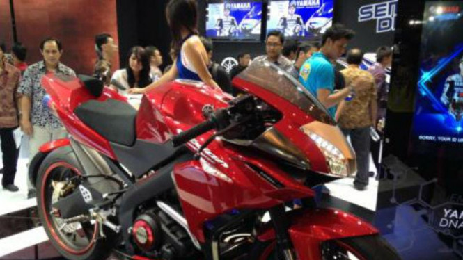 New Yamaha V-Ixion modifikasi