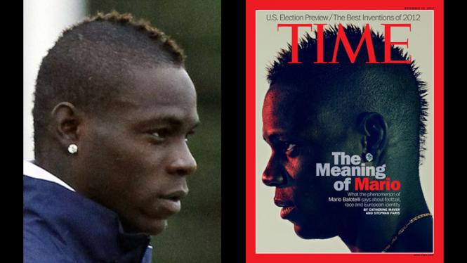 Mario Balotelli jadi bintang sampul TIME