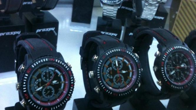 Jam tangan ini tak terlihat seperti kamera mata-mata