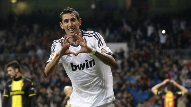 Pemain Real Madrid, Angel Di Maria