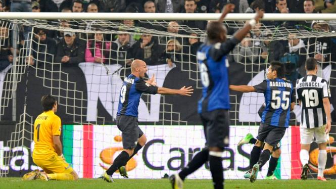 Inter Milan kalahkan Juventus