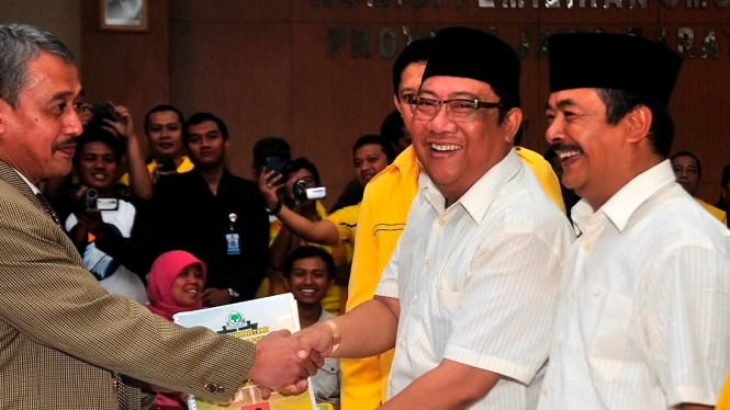 Mantan Bupati Indramayu, Irianto MS Syafiuddin (Yance)