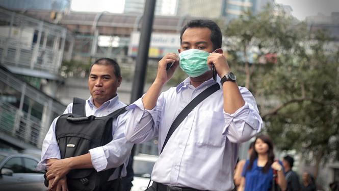 Polusi Udara di Jakarta Meningkat