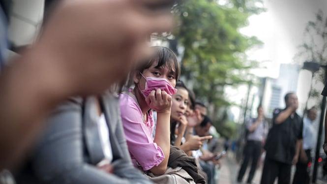 Polusi Udara di Jakarta.