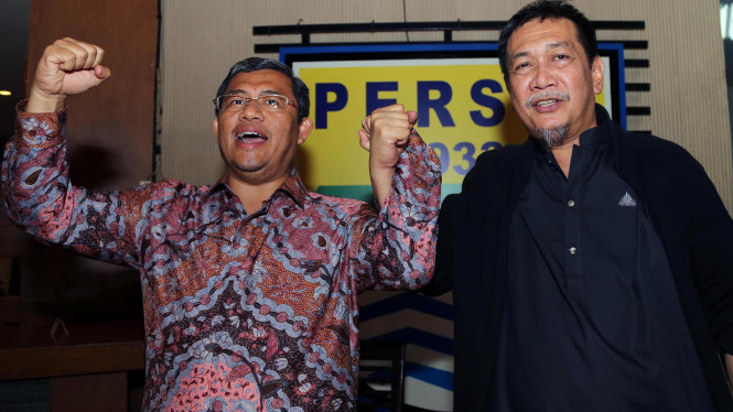 Ahmad Heryawan dan Deddy Mizwar
