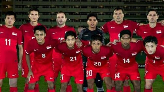 Skuat tim nasional Singapura