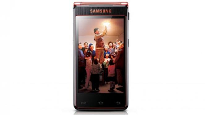 Smartphone dari Samsung dengan layar lipat