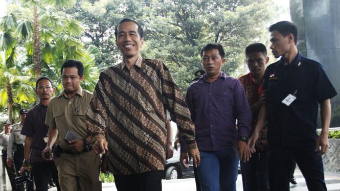 Jokowi Datangi KPK
