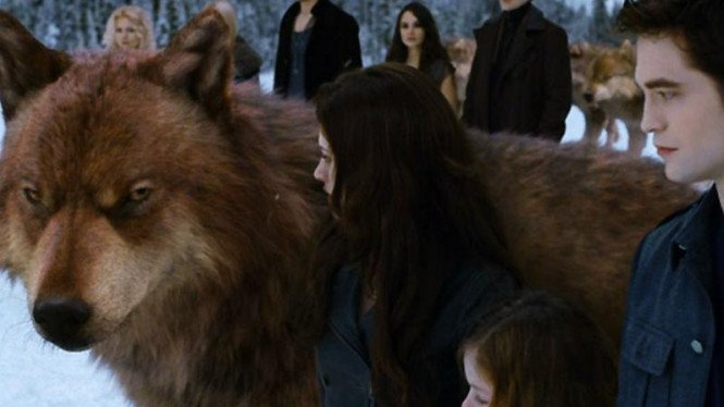 Adegan di film Twilight Saga Breaking Dawn Part II