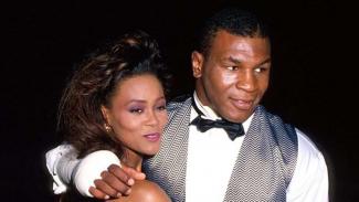 Mike Tyson dan Robin Givens sebelum bercerai pada 1989