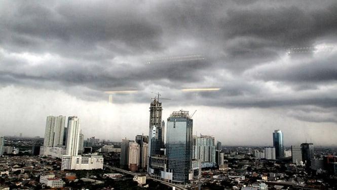 Cuaca Buruk Jakarta