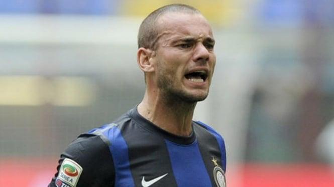 Gelandang Inter Milan, Wesley Sneijder