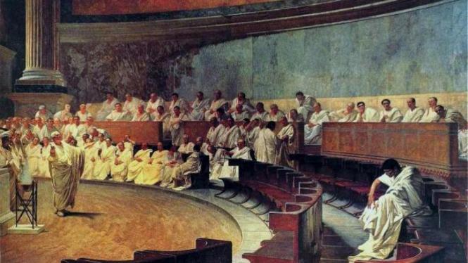 Ilustrasi pemerintahan Republik Romawi
