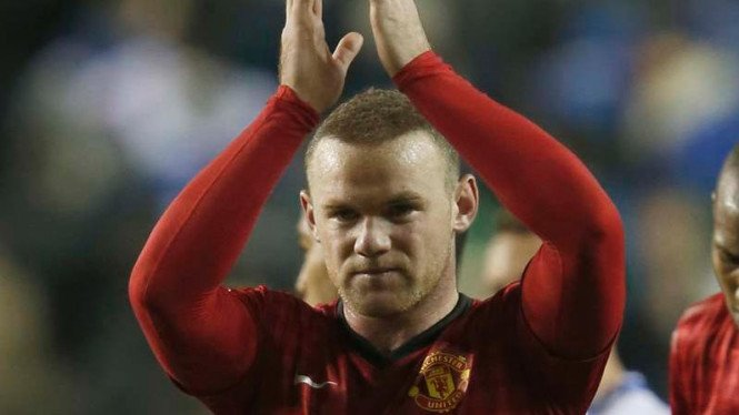 Striker Manchester United, Wayne Rooney