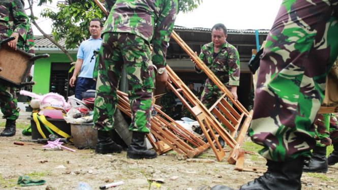 Pengosongan Rumah Dinas Oleh TNI AU