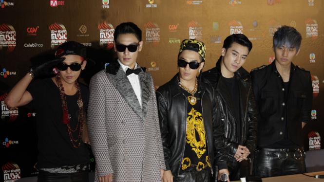 BIGBANG, banyak menginspirasi K-Popers Indonesia.
