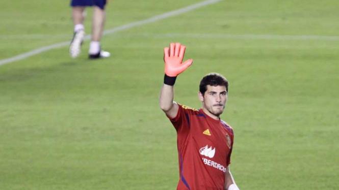 Kiper Real Madrid dan Timnas Spanyol, Iker Casillas