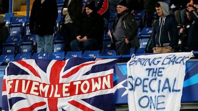 Fans The Blues mendesak Jose Mourinho kembali
