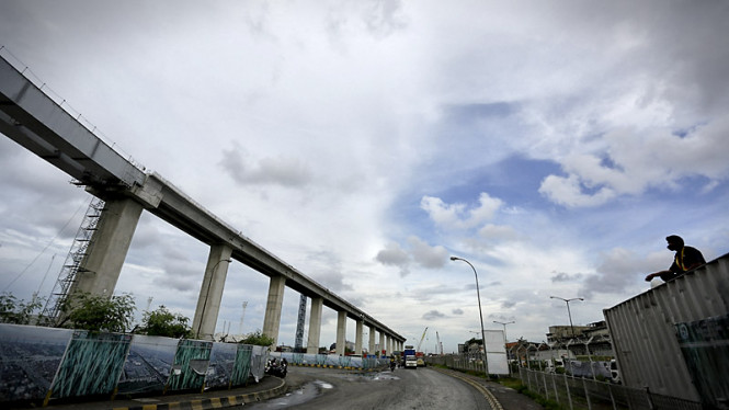 Pembangunan Jalan Layang Tol