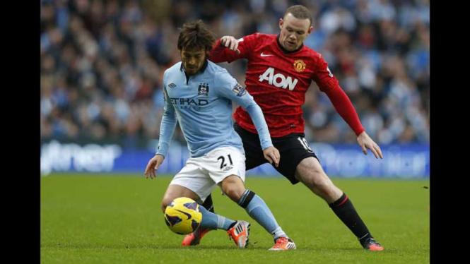 Manchester City VS Manchester United, 2012