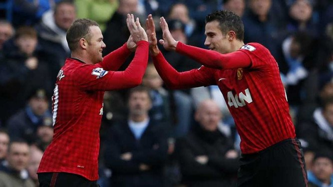 Manchester City VS Manchester United, 2012