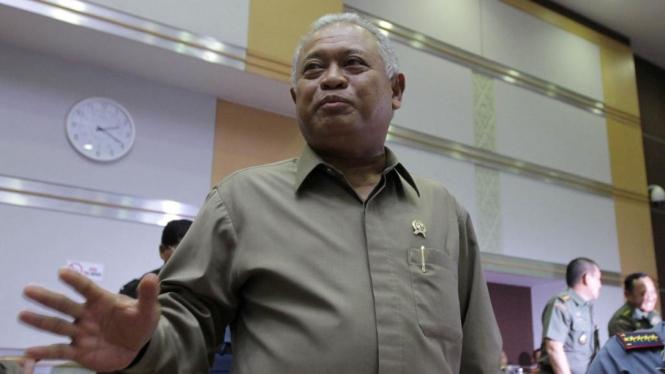 Menteri Pertahanan (Menhan) Purnomo Yusgiantoro