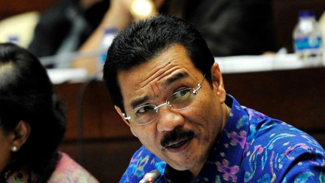 Mantan Menteri Dalam Negeri Gamawan Fauzi