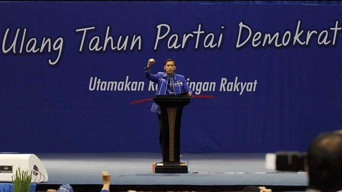 Penutupan Silatnas & HUT Partai Demokrat Ke-11