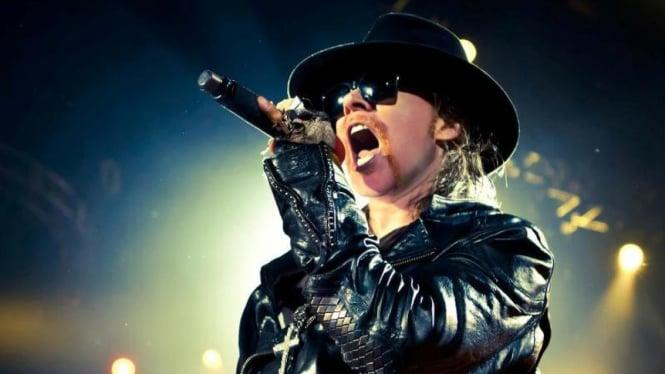 Vokalis Guns N Roses Axl Rose