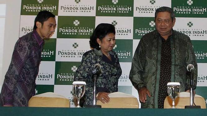 Anak Ibas-Aliya Diberi Nama Airlangga Satriadhi Yudhoyono