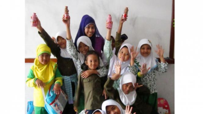 Milkuat Botol Tiger menemani aktivitas di sekolah