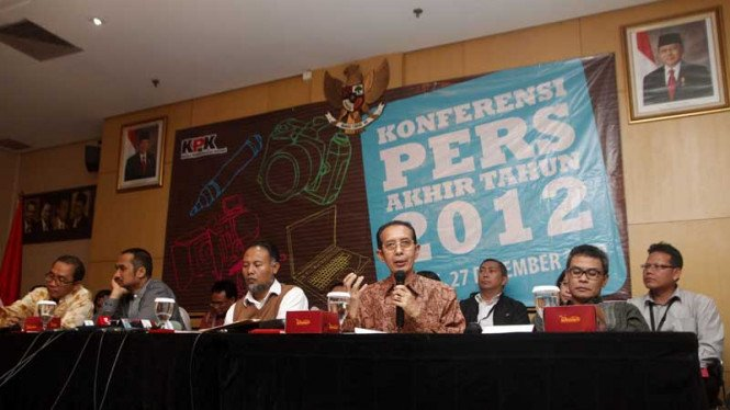 Laporan Akhir Tahun KPK 2012