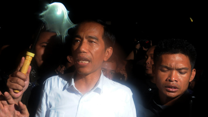 Jokowi Keliling Bundaran HI
