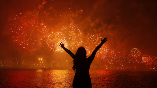 Perayaan Tahun Baru 2013 di Rio de Janeiro