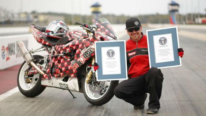 Stunt rider Jesse Toler