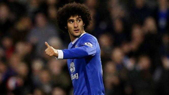 Striker Everton, Marouane Fellaini