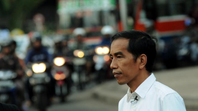 Jokowi ngopi Bareng Pewarta Foto Jakarta