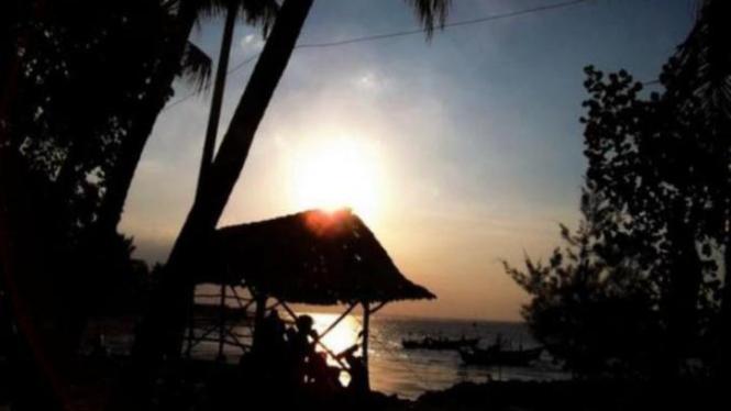 Salah satu wisata pantai di Tuban