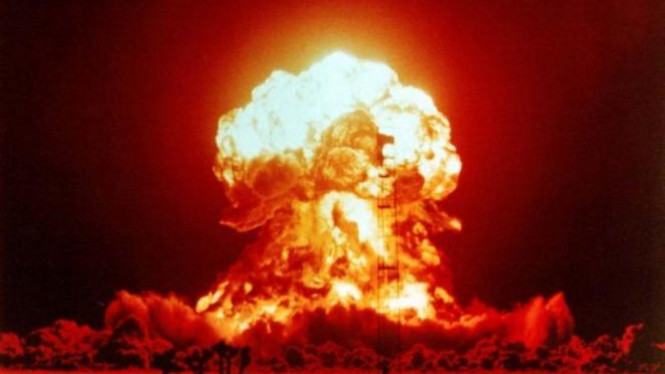Ilustrasi perang nuklir